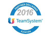 partner dell'anno 2016 TeamSystem
