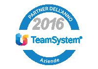 partner dell'anno 2016 TeamSystem