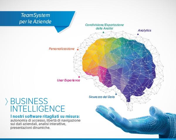 Business Intelligence su misura per le esigenze di Professionisti e Aziende, che possono effettuare analisi mirate ed interattive incrociando dati provenienti da fonti diverse