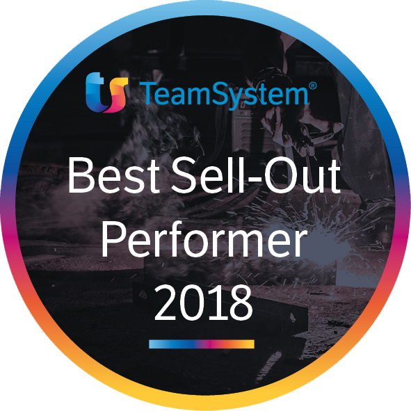 Best Sell-Out Performe 2018 TeamSystem